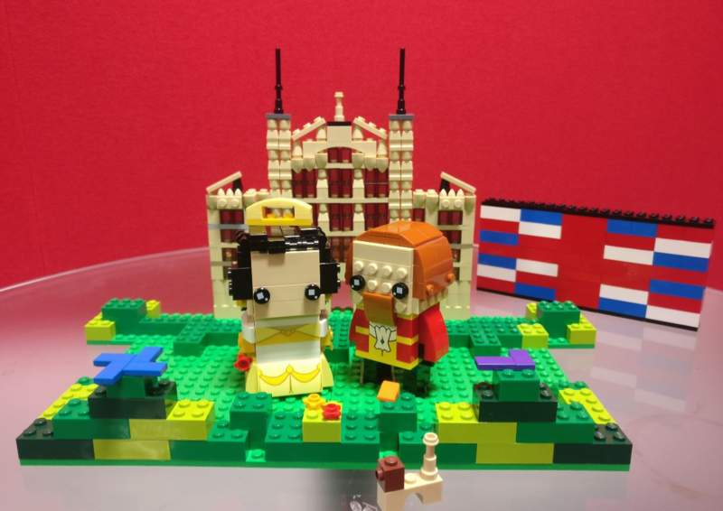 Lego Royal Wedding Created During Radio Show Brickish The Uk