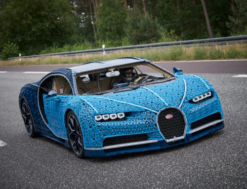 LIFE-SIZE AND DRIVABLE LEGO® TECHNIC BUGATTI CHIRON
