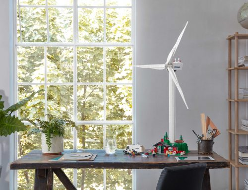 THE NEW LEGO® CREATOR EXPERT VESTAS® WIND TURBINE
